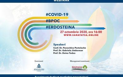 27.10.2020 | WEBINAR #COVID 19#BPOC #ERDOSTEINA