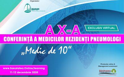 11-12.12.2020 | a X-a Conferință a Medicilor Rezidenți Pneumologi