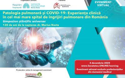 04.12.2020 | Simpozion științific Patologia pulmonară și COVID-19