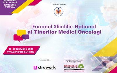 18-20.02.2021 | Forumul Științific Național al Tinerilor Medici Oncologi