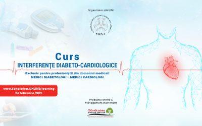 26.02.2021 | Curs: Interferențe diabeto-cardiologice