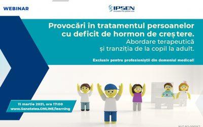 11.03.2021 | Provocări în tratamentul persoanelor cu deficit de hormon de creștere